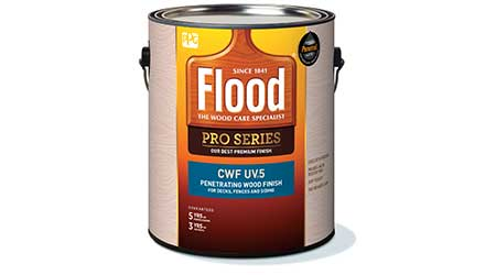Wood Stain Provides UV Protection: Flood Pro