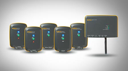 Wireless Sensors Provide Flexible Monitoring: Fluke