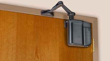 Door Operators Charge Own Batteries: Norton