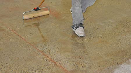 Epoxy Provides Vapor Protection: MAXXON