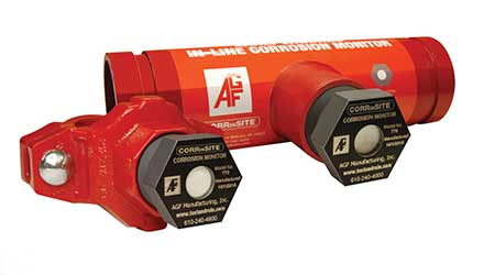 Monitor Flags Sprinkler Pipe Corrosion: AGF Manufacturing