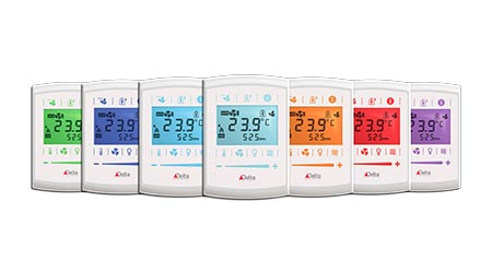 Thermostat Features WiFi and enOcean Capabilities: Delta Controls