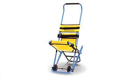 Chair Enables Multistory Evacuations: EVAC+CHAIR NORTH AMERICA