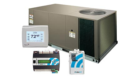 System Integrates HVACR equipment and Controls: Johnson Controls