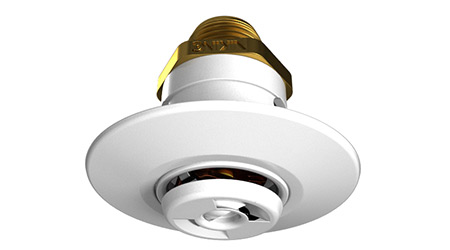 Sprinkler Minimizes Disruptions on Smooth Ceilings: Viking