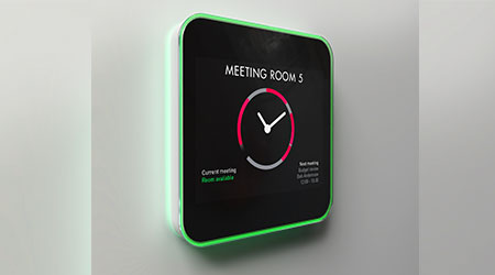 User Interface Facilitates Room Reservations: Evoko