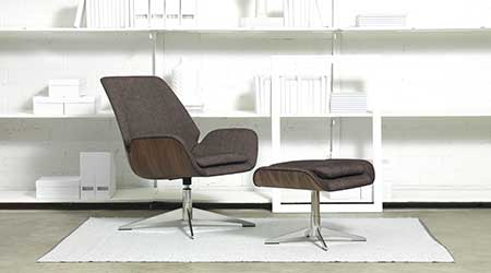 Chair Sits Between Task and Lounge: HBF