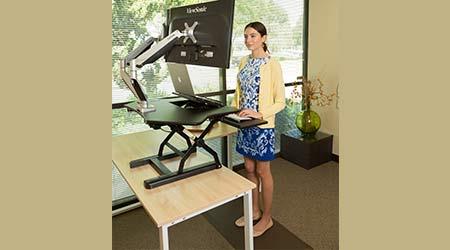Sit-stand Riser: Loctek