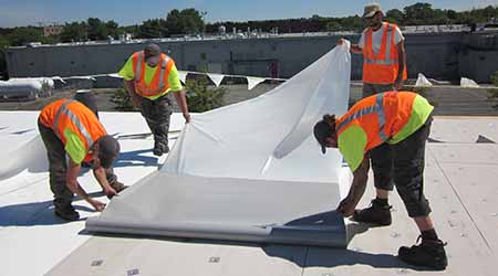 Self-adhered PVC Membrane: Sika Sarnafil