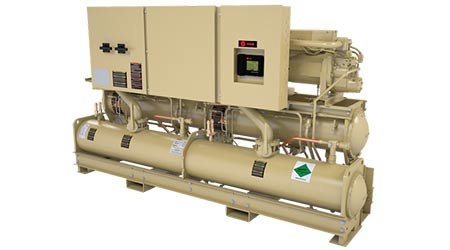 Chiller Uses Next-Gen Low-GWP Refrigerant: Trane