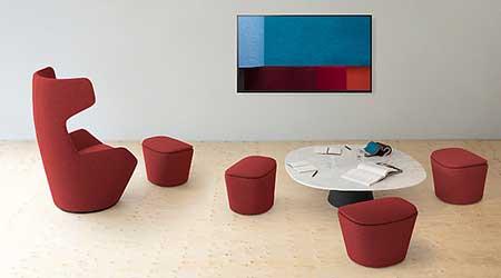Lounge Seating: Allsteel