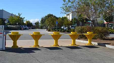 Portable Bollard: Delta Scientific