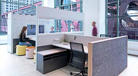 Panel System: Kimball Office