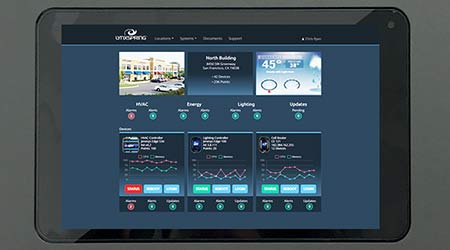 HD Touchscreen Display: Lynxspring