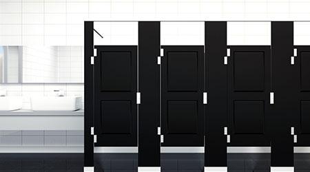 Restroom Partitions: Scranton Products