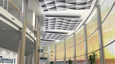 Ceiling System: Armstrong Ceilings