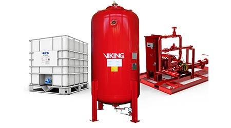 Foam Fire Suppression: Viking