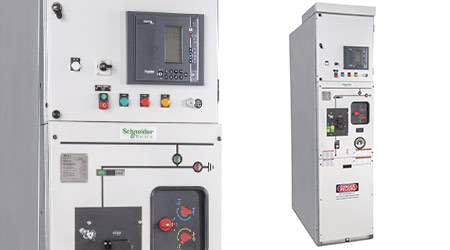 Gas-insulated Switchgear: Schneider Electric