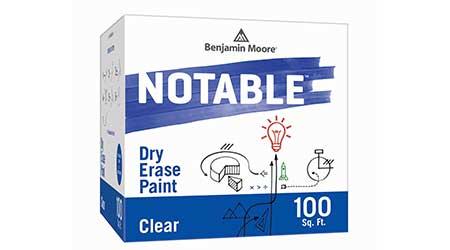 Dry Erase Paint: Benjamin Moore