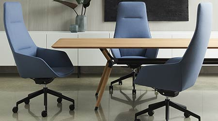 Solid Wood Conference Table: Davis
