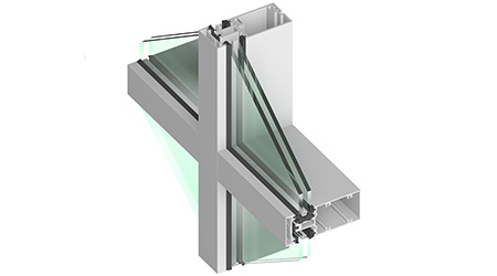 Thermally Broken Curtainwall: Tubelite