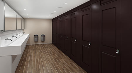 Restroom Partitions: Scranton Products