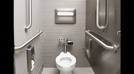 Bariatric Restroom Accessories: Bradley
