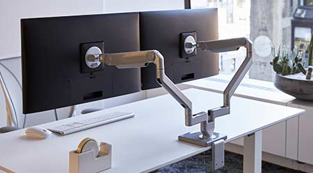 Monitor Arms: Humanscale