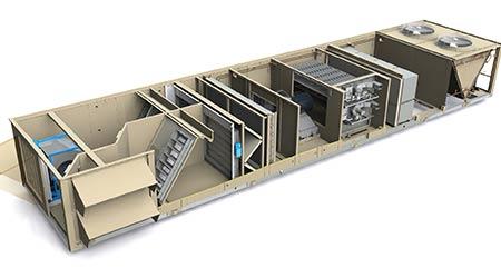 Rooftop Unit: Johnson Controls