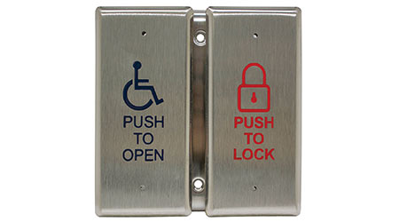 Push Plate: Camden Door Controls
