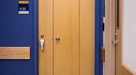 Barrier-resistant Doors: Construction Specialties