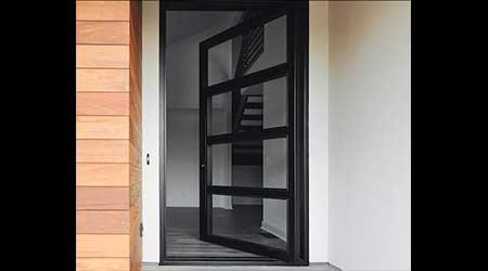 Steel Pivot Door: Maiden Steel