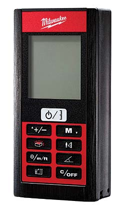 Laser Distance Meters: Milwaukee Electric Tool Corp.