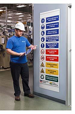 Safety Message Boards: Brady Corp.