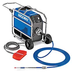 Chiller Tube Cleaner: Goodway Technologies Corp.