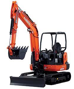 Excavator Blade: Kubota Tractor Corp.