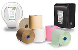 Restroom Paper Dispenser: Cascades Tissue Group
