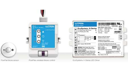 Wireless Fixture Controls Provides Occupancy Detection and Daylight Harvesting Options: Lutron Electronics Co. Inc.