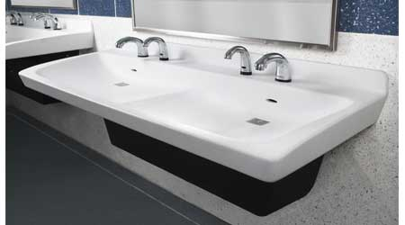 Lavatory System Easy to Specify, Install, Clean and Maintain: Bradley Corp.