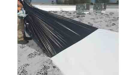 Roofing Film Protects TPO Membrane: Carlisle SynTec Systems