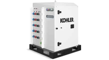 Paralleling Box Combines Different Sized Generators With Different Fuel Types: Kohler Power Systems