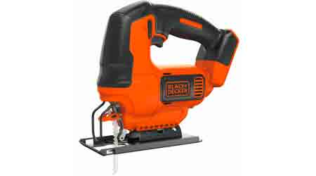 Cordless Jigsaw Joins Family of Interchangeable Power Tools: Black & Decker