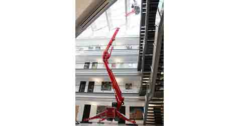 Compact Aerial Lift Reaches Hard-to-Access Areas: Teupen USA Inc.
