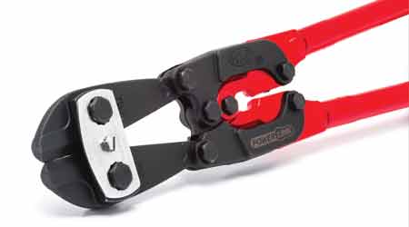 Design Helps Bolt Cutters Require Less Effort to Cut: H.K. Porter