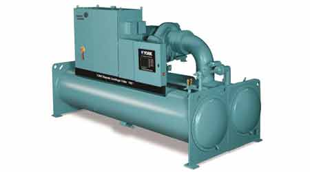Capacity Extended for Centrifugal Chiller Line: York