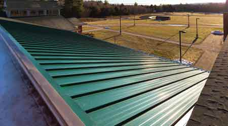 Metal Roof System Guards Against Wind Uplift: The Garland Co. Inc.