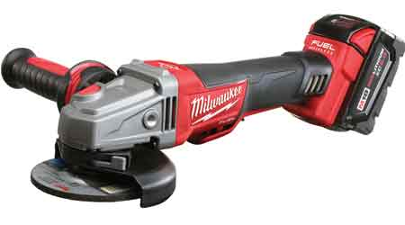 Cordless Grinder Delivers Longer Tool Life: Milwaukee Electric Tool Corp.