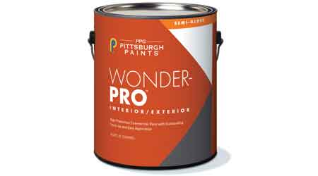 Latex Paint Designed for Interior, Exterior Use: PPG Pittsburgh Paints