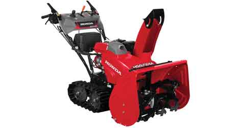 Snow Blower Series Features Advanced Design: American Honda Power Equipment Division