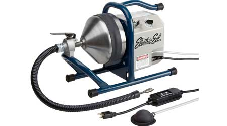 Counter-Top Drain Cleaner Features Variable Speed Options: Electric Eel Manufacturing Co.